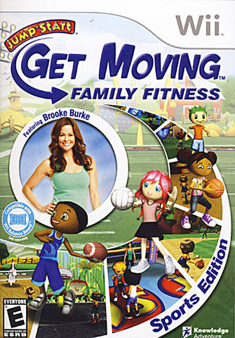 Jump Start - Get Moving Family Fitness (NINTENDO WII) NINTENDO WII Game