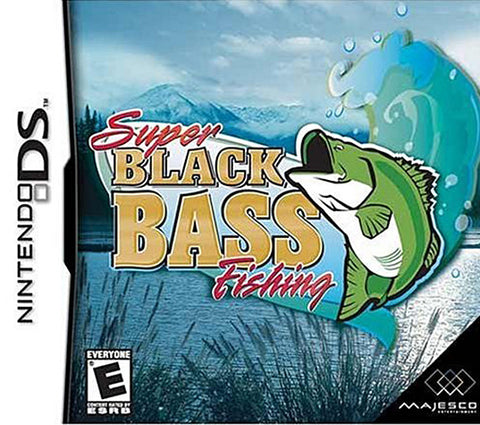 Super Black Bass Fishing (DS) DS Game
