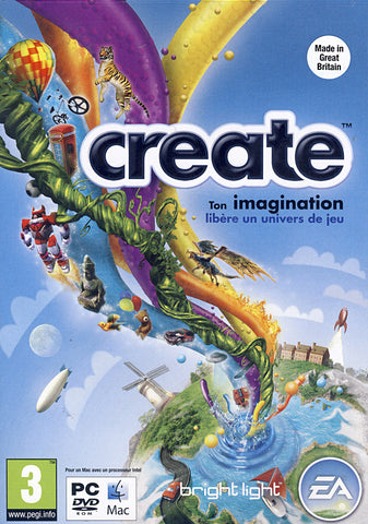 Create (French Version Only) (PC) PC Game