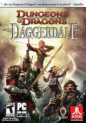 Dungeons and Dragons - Daggerdale (PC) PC Game