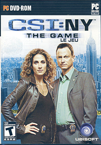 CSI - New York The Game (Bilingual) (PC) PC Game
