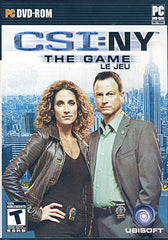 CSI - New York The Game (Bilingual) (PC)