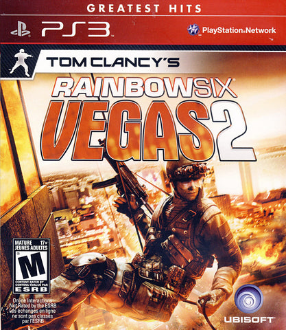 Tom Clancy s - Rainbow Six Vegas 2 (Bilingual Cover) (PLAYSTATION3) PLAYSTATION3 Game