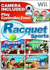 Racquet Sports with Camera (NINTENDO WII)