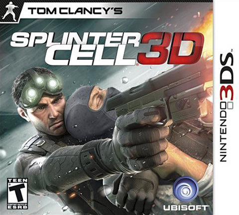 Tom Clancy's Splinter Cell 3D (3DS) 3DS Game