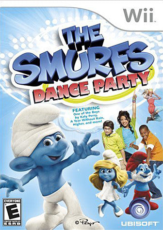 The Smurfs - Dance Party (NINTENDO WII) NINTENDO WII Game