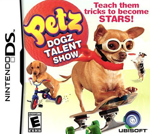 Petz Dogz Talent Show (DS) DS Game