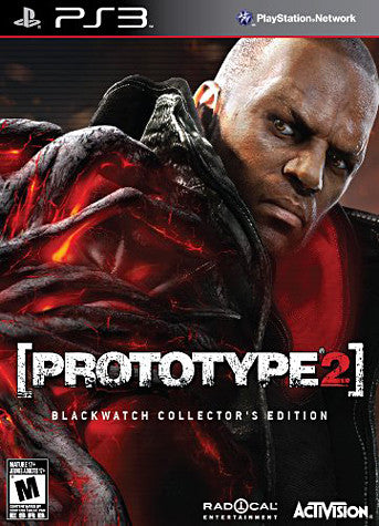 Prototype 2 - Blackwatch Collector's Edition (PLAYSTATION3) PLAYSTATION3 Game