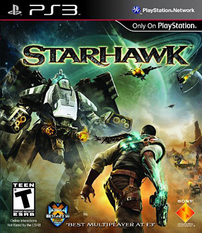 Starhawk (Bilingual Cover) (PLAYSTATION3) PLAYSTATION3 Game