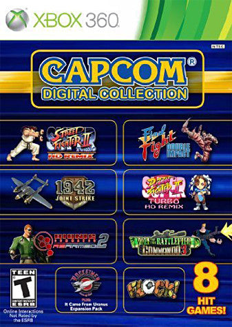 Capcom Digital Collection (Bilingual Cover) (XBOX360) XBOX360 Game