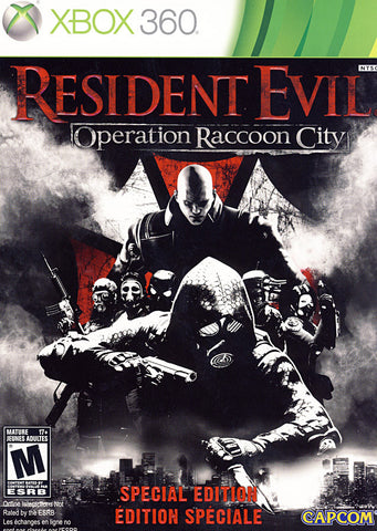 Resident Evil - Operation Raccoon City (Special Edition - Steelbook) (Bilingual Cover) (XBOX360) XBOX360 Game