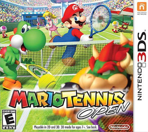 Mario Tennis Open (3DS) 3DS Game