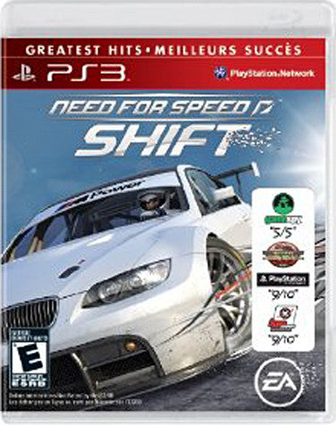 Need for Speed - Shift (Bilingual Cover) (PLAYSTATION3) PLAYSTATION3 Game