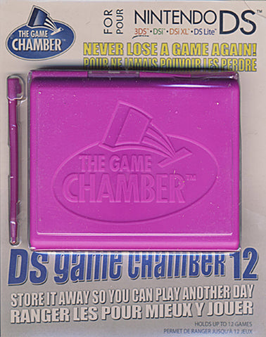 Nintendo DS/DSI/3DS Handheld Game Chamber (Pink) (DS) DS Game