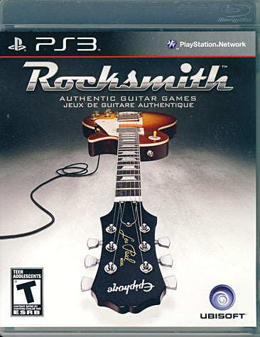Rocksmith (Game Only) (PLAYSTATION3) PLAYSTATION3 Game