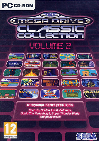 Sega Mega Drive Classic Collection Vol. 2 (European) (PC) PC Game