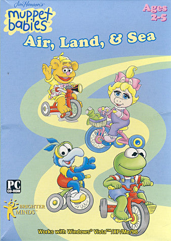 Muppet Babies Air, Land and Sea Software (PC) PC Game