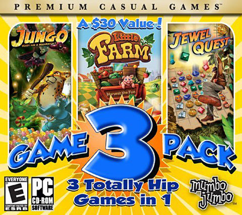 Jungo/ Little Farm/ Jewel quest (Mumbo Jumbo Game 3 Pack) (PC) PC Game