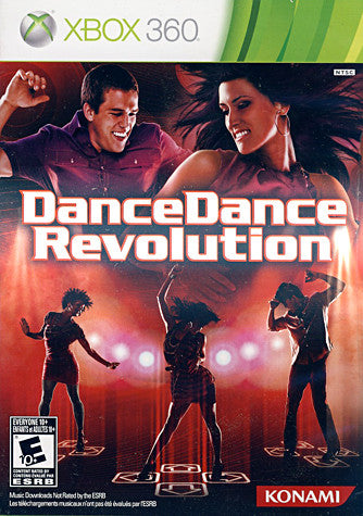 Dance Dance Revolution (Game Only) (Trilingual Cover) (XBOX360) XBOX360 Game