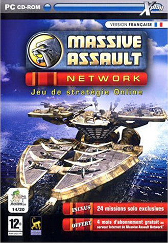 Massive Assault Network (French Version Only) (PC) PC Game