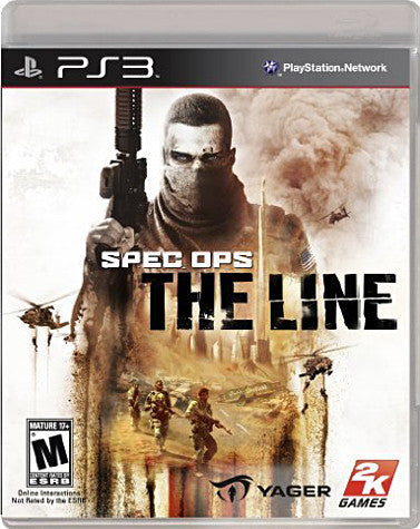Spec Ops - The Line (Bilingual Cover) (PLAYSTATION3) PLAYSTATION3 Game