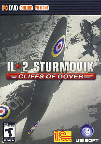 IL-2 Sturmovik - Cliffs of Dover (Bilingual Cover) (PC) PC Game