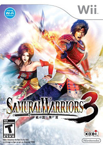 Samurai Warriors 3 (Trilingual Cover) (NINTENDO WII) NINTENDO WII Game