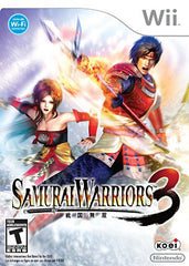Samurai Warriors 3 (Trilingual Cover) (NINTENDO WII)
