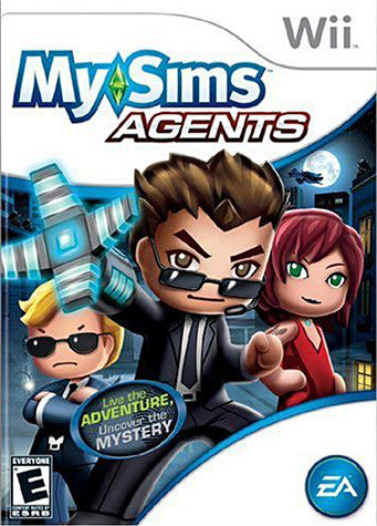 MySims Agents (NINTENDO WII) NINTENDO WII Game