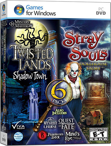 Mystery Masters 6 Pack (PC) PC Game