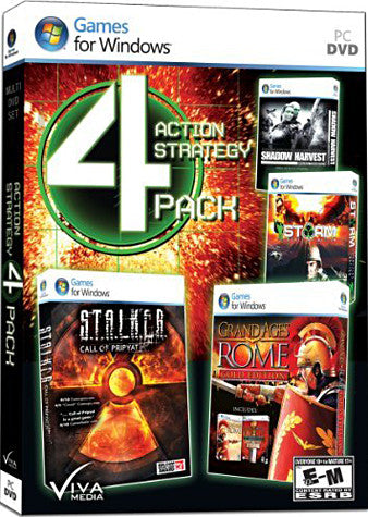 Action-Strategy 4 Pack (Limit 1 per Client) (PC) PC Game