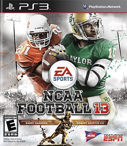 NCAA Football 13 (PLAYSTATION3) PLAYSTATION3 Game