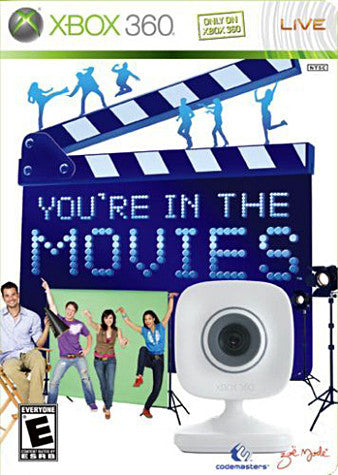 You're in The movies with camera (Spanish Version Only) (XBOX360) XBOX360 Game