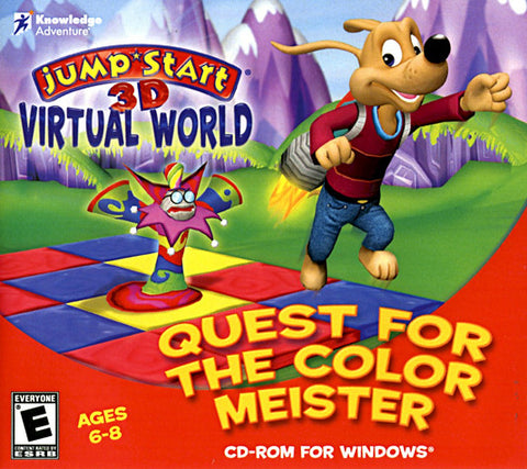 JumpStart 3D Virtual World - Quest for the Color Meister (Jewel Case) (PC) PC Game