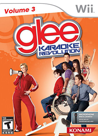 Karaoke Revolution Glee Volume 3 Bundle (Includes Microphone) (NINTENDO WII) NINTENDO WII Game