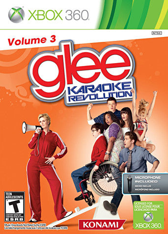 Karaoke Revolution Glee Volume 3 Bundle (Includes Microphone) (Trilingual Cover) (XBOX360) XBOX360 Game