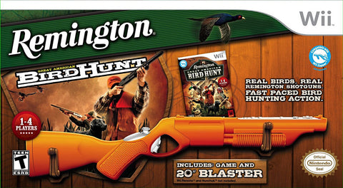 Remington - Great American Bird Hunt with Blaster Hunting (Bundle) (NINTENDO WII) NINTENDO WII Game