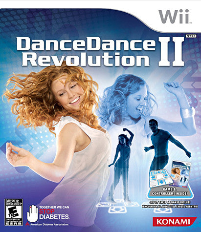Dance Dance Revolution II (2)(Bundle) (NINTENDO WII) NINTENDO WII Game