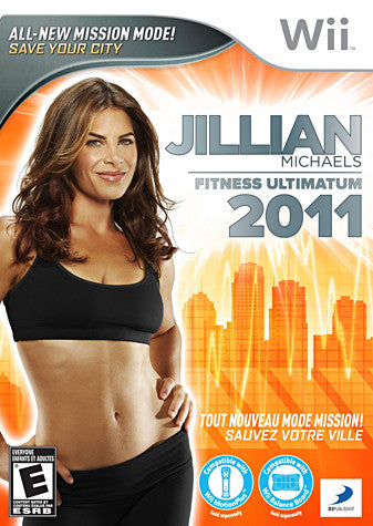 Jillian Michaels - Fitness Ultimatum 2011 (NINTENDO WII) NINTENDO WII Game