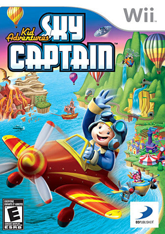 Kid Adventures - Sky Captain (Trilingual Cover) (NINTENDO WII) NINTENDO WII Game