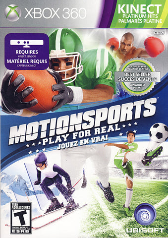 MotionSports - Play For Real (Kinect) (Bilingual Cover) (XBOX360) XBOX360 Game