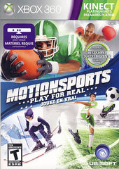 MotionSports - Play For Real (Kinect) (Bilingual Cover) (XBOX360)