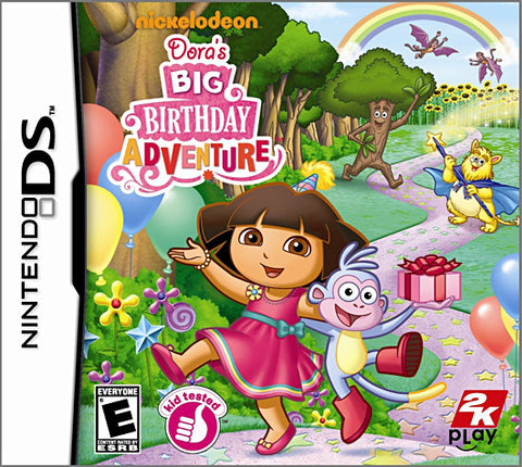 Dora the Explorer - Dora s Big Birthday Adventure (DS) DS Game