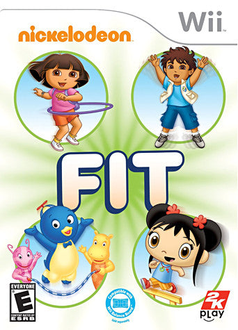 Nickelodeon Fit (NINTENDO WII) NINTENDO WII Game