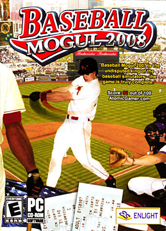 Baseball Mogul 2008 (PC) PC Game