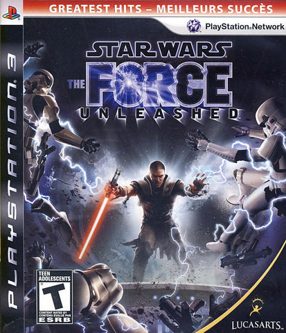 Star Wars - The Force Unleashed (Bilingual Cover) (PLAYSTATION3) PLAYSTATION3 Game