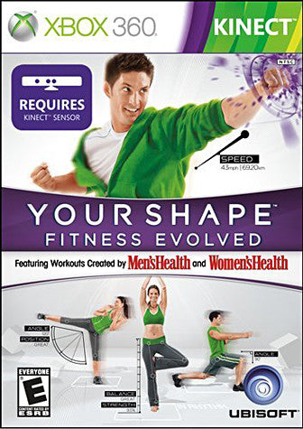 Your Shape Fitness Evolved (Kinect) (Bilingual Cover) (XBOX360) XBOX360 Game
