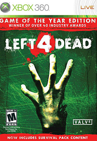 Left 4 Dead - Game of the Year Edition (Bilingual Cover) (XBOX360) XBOX360 Game