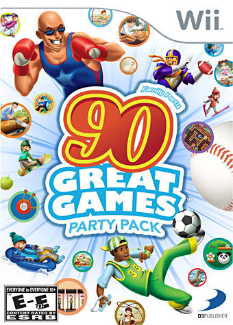 Family Party - 90 Great Games Party Pack (NINTENDO WII) NINTENDO WII Game