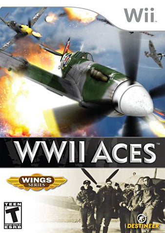 WWII Aces (Bilingual Cover) (NINTENDO WII) NINTENDO WII Game